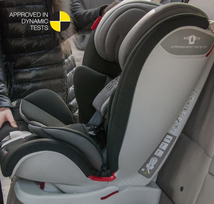 a99952b2 Fotelik Samochodowy 9-36 kg TESSA Isofix Coletto kolor BLACK