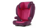 Fotelik Monza Nova Evo Seatfix kolor Power Berry / RECARO